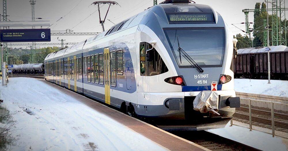 Szélvihar csapott le Budapest környékére, fennakadások a vonatközlekedésben, baleset az M0-áson