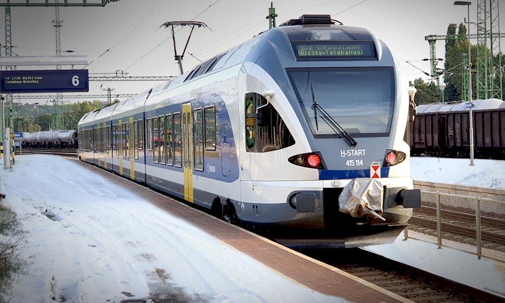 Vonat gázolt Dunakeszinél