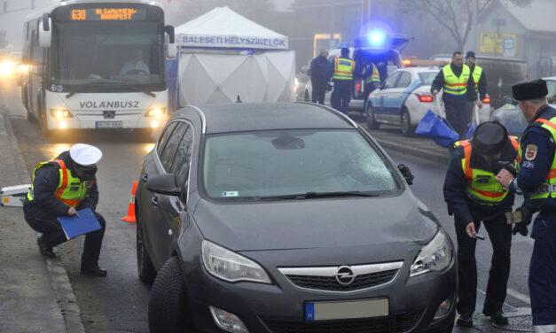Halálos gázolás Soroksáron, az asszony nem élte túl a balesetet