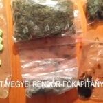 Bedrogozott kábítószerkereskedőt fogtak el az agglomerációban