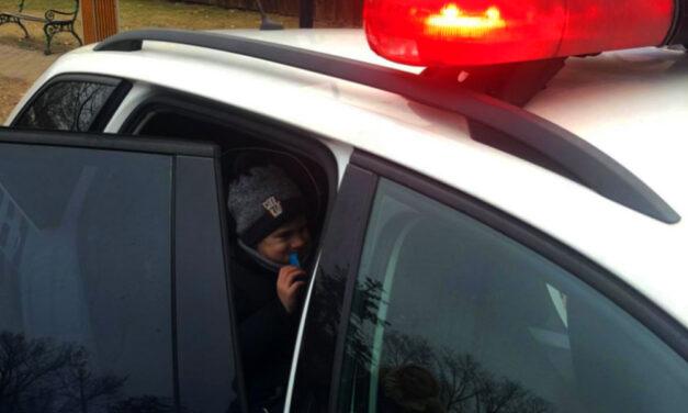 Nagy meglepetést okoztak a rendőrök Fóton