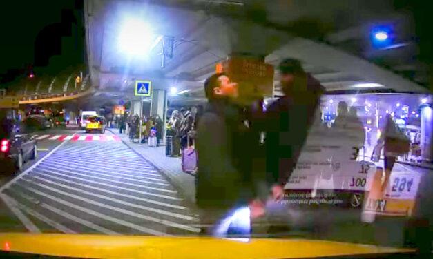 Taxisverés a reptéren: kirúgták a biztonsági őrt
