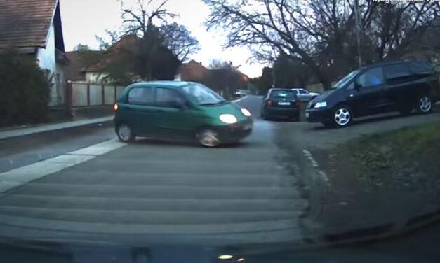 Veszélyesen vagánykodott egy autós Szigetszentmiklóson