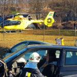 Súlyos baleset Pátyon, lezárták a Zsámbék felé vezető utat