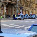 Bombagyanús táskát találtak a Belvárosban, lezárták a környéket