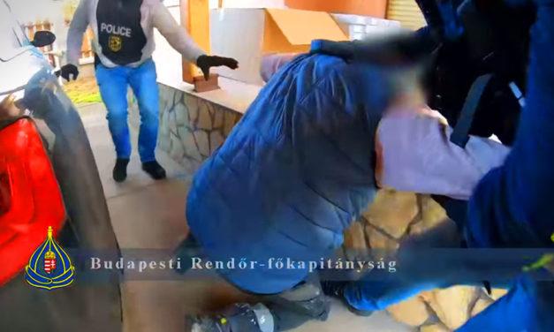 Lerohanták a kommandósok a dunakeszi droglabort