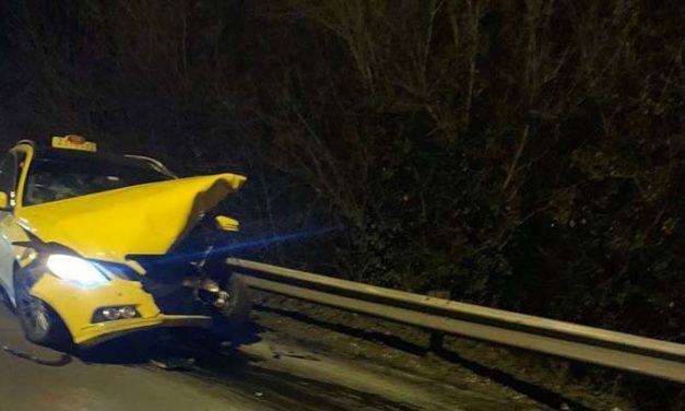 Halálos baleset a Ferihegyi gyorsforgalmin – egy taxis is érintett
