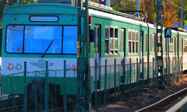 Pótlóbusz jár a H6-os HÉV vonalának egy szakaszán a hétvégén