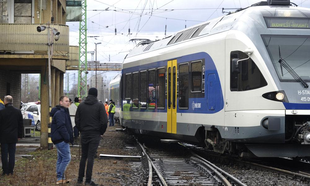 Az ország legproblémásabb vasútvonalai Budapesten és környékén vannak