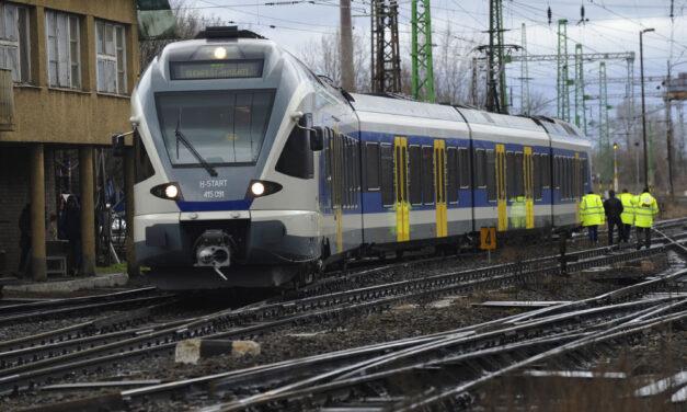 Megint baj van a MÁV-val, több Budapest környéki járatot töröltek
