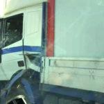 Kamionok ütköztek az M0-son, több kilométeres a torlódás