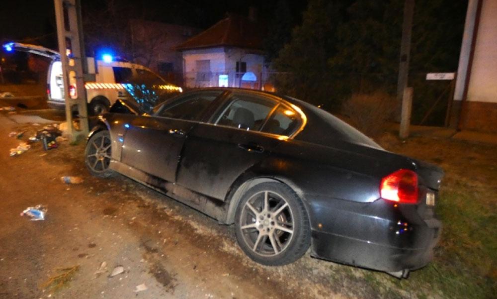 A BMW-s beletrafált az Opelbe, a sofőr segítségnyújtás helyett inkább lelépett