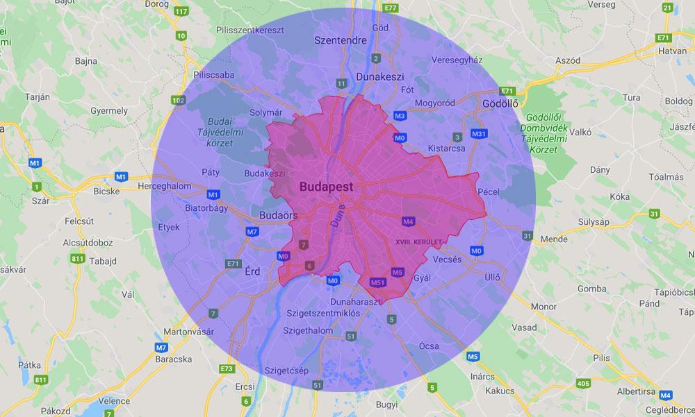 Vita Budapestről és környékéről: Kompakt vagy szétterült legyen a főváros?
