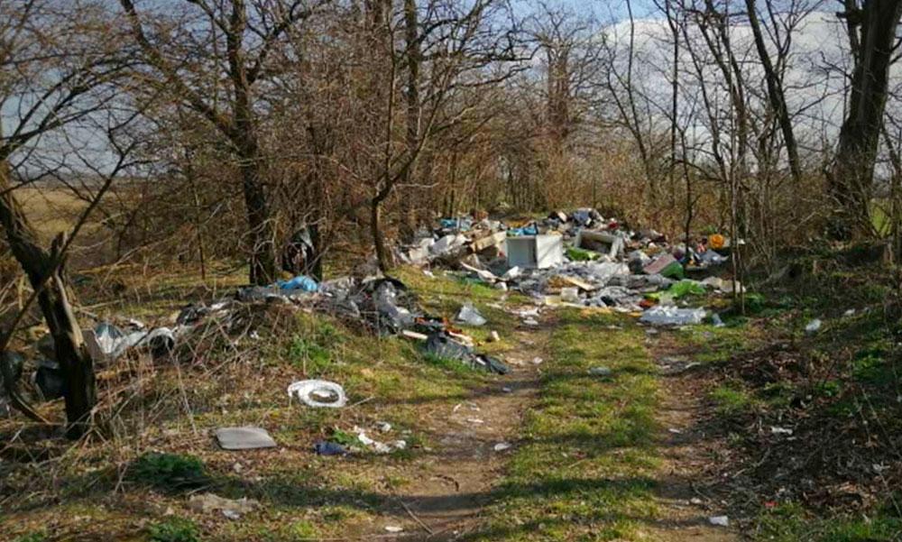 Harc az illegális hulladéklerakók ellen: gumibotos hulladékrendészetet állítanának fel