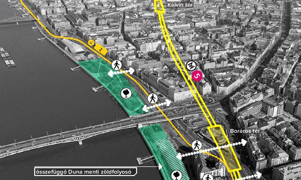 Már tervezik az M5-ös metró alagútját