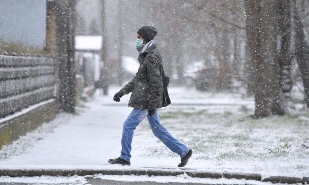 Alig volt télen hó, most tavasszal bezzeg havazik! Kérdés, hogy meddig?
