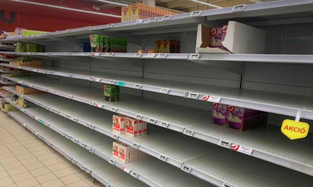 A járvány miatt megugrott élelmiszerárakról és a nyerészkedőkről beszélt a miniszter