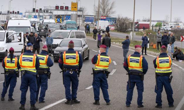 Rengeteg román és bolgár autós megy át az agglomerációs autópályákon kedd éjszka