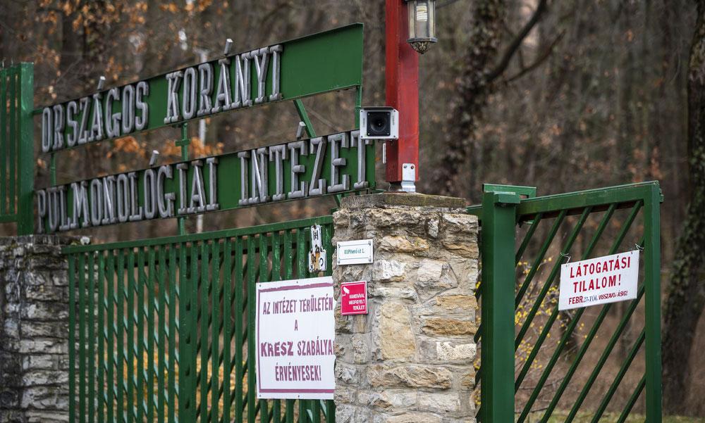 581 új beteget regisztráltak: annyi a fertőzött, hogy a Korányi kórház plusz személyzetet kért