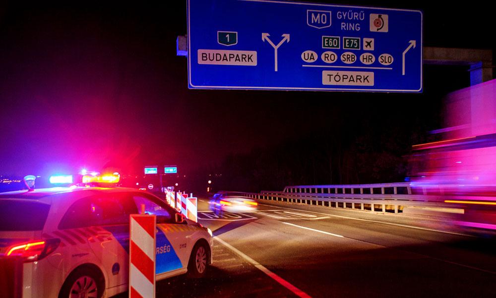 Megnyílt a humanitárius korridor a magyar autópályákon