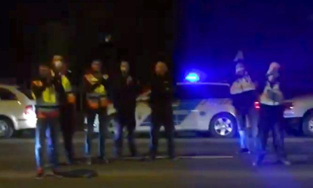 """""""Nincsenek szavak"""" – Így tapsolták meg a pilisvörösvári mentősöket"""