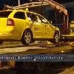 Razzia a belvárosban: Lefoglalták az engedély nélkül működő taxikat