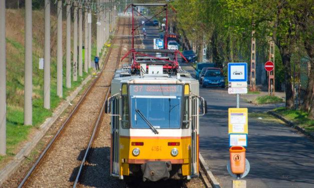 Változik a villamosközlekedés az Új köztemetőnél
