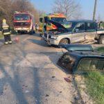 Súlyos baleset miatt teljes útzár van Telki és Budajenő között