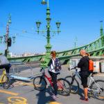Ideiglenes kerékpársávok segítik a közlekedést járvány idején