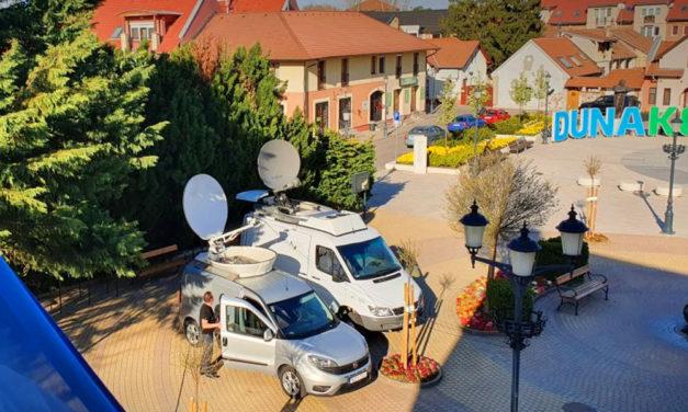 A CNN amerikai tévécsatorna ismét élőben kapcsolta Dunakeszit