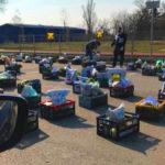 Különös karanténpiac nyílt Dunakeszin, érintés nélkül lehet vásárolni