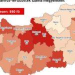 Újabb 8 halott és közel 1000 fertőzött van Magyarországon