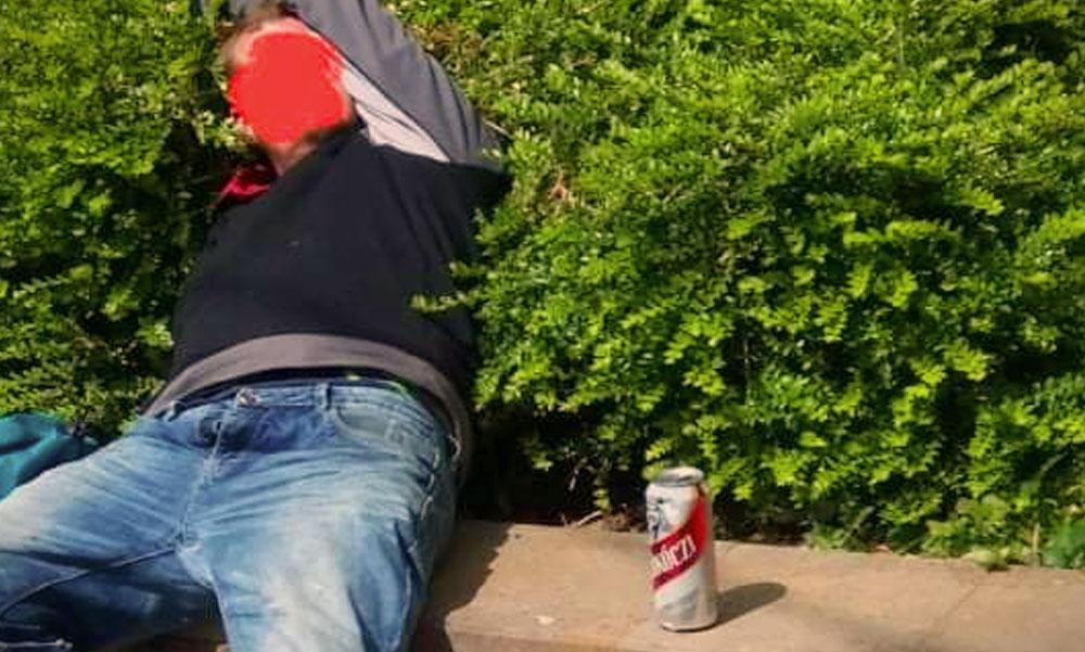 Alkoholisták és drogosok az utcán, kiakadtak Budakeszin a mocsoktól