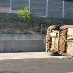Újabb baleset az M0-áson, teljesen járhatatlan az autóút