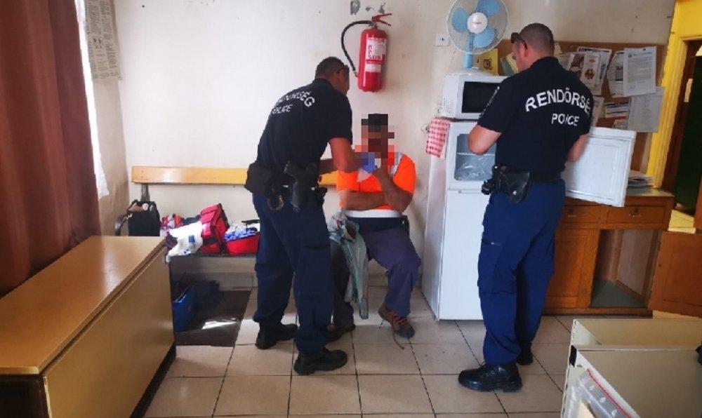 Rendőr mentette meg egy férfi ujjait Budaörsön