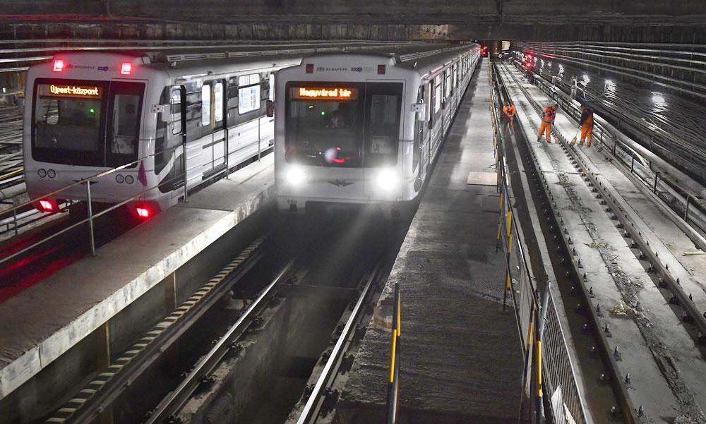 A kormány hallgatott a fővárosra: beoltanak több kritikus munkakörben dolgozót a BKV-nál, így talán nem áll le a metró