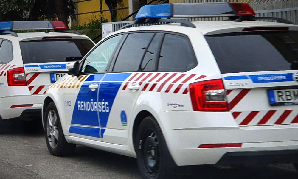 Várandós nőt segítettek a kórházba a budapesti motoros rendőrök