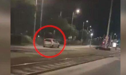 Szembe a forgalommal száguldozott egy részeg őrült a Könyves Kálmán körúton