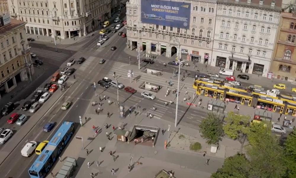 Itt a videó arról, hogyan állt meg az élet Budapesten Trianon 100. évfordulóján