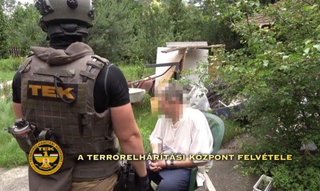 Lecsapott a TEK a budapesti drogkereskedőkre, 5 kiló heroint találtak a hátsó kertben elásva