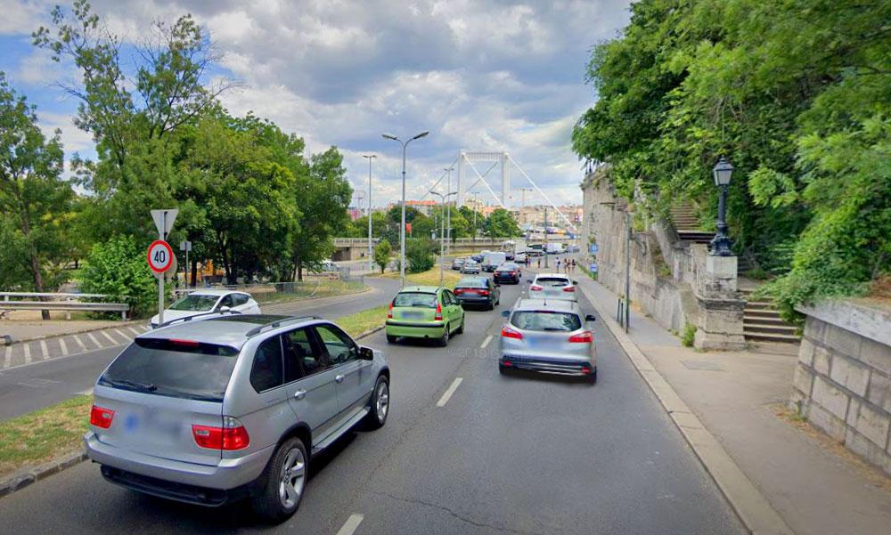 Buszsávot akar a Hegyalja úton a főpolgármester, egy sávval kevesebb jut majd az autósoknak