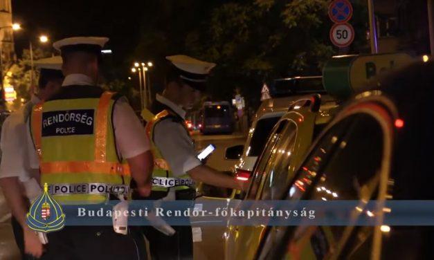 Illegális gyorsulási versenyekre csapott le a rendőrség Budapesten
