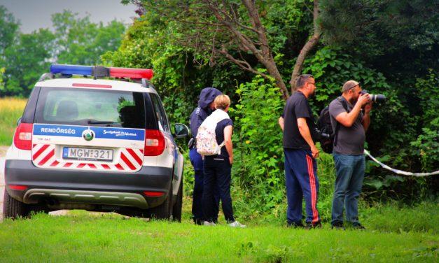 Ismét megjelentek a rendőrök a pátyi horrorháznál, újabb testrészek után kutatnak a kertben