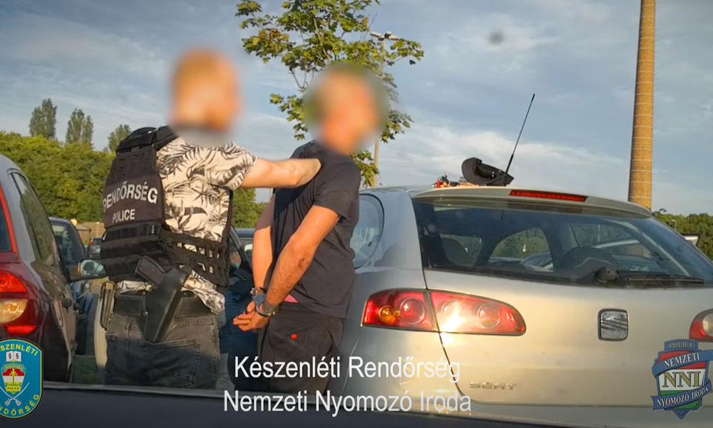 Nagy rendőrségi akció, a kommandósok is részt vettek a drogdílerek elfogásában