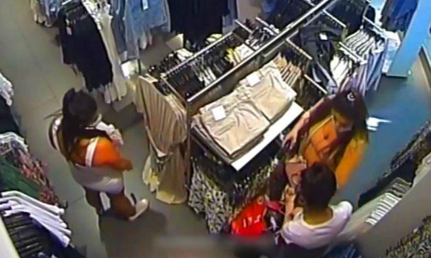 A West End több üzletében shoppingolás helyett inkább lopott a három nő