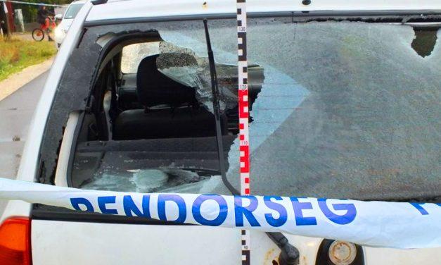 Lövöldözés és üvöltözés az utcán, egymásnak feszült két család Pest megyében