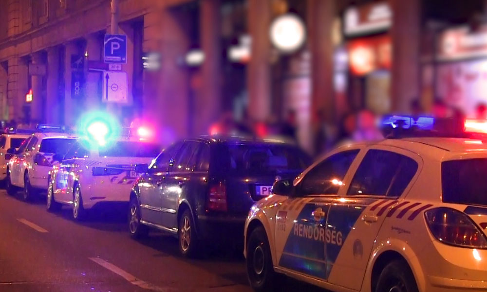 Nagy rendőrségi razzia a belvárosban, sokan meglepődtek