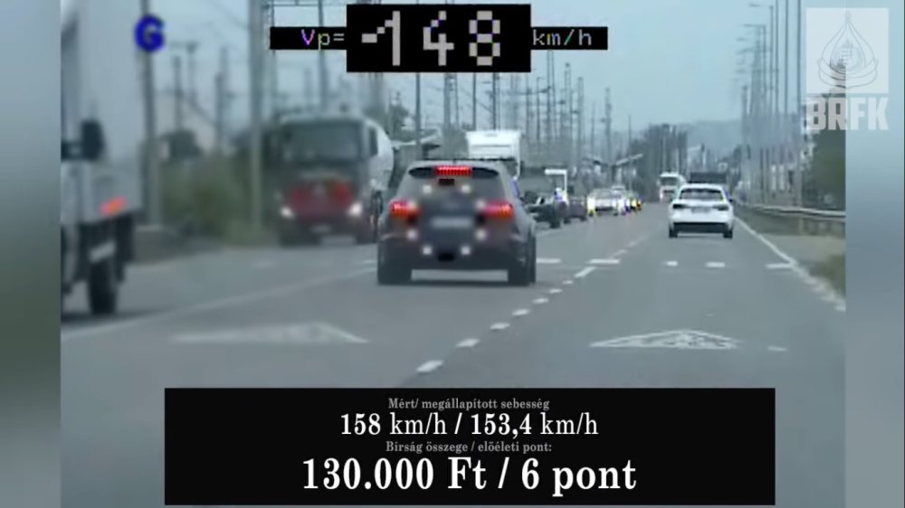 Gyorshajtókat büntettek a civil autós rendőrök, egy Audis 70 helyett 150-nel száguldozott