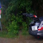 A szép autó belvárosi tulajdonosa Kerepesig vitte a mocskát, hogy ott dobja el
