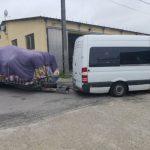 Négy tonnányi túlsúllyal közlekedő horrorkaravánt kaptak el a rendőrök az M0-son
